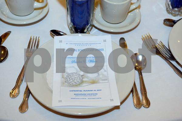 St. Columbanus Scholarship Dinner and Sandra Wilson's Retirement Party 3-18-17