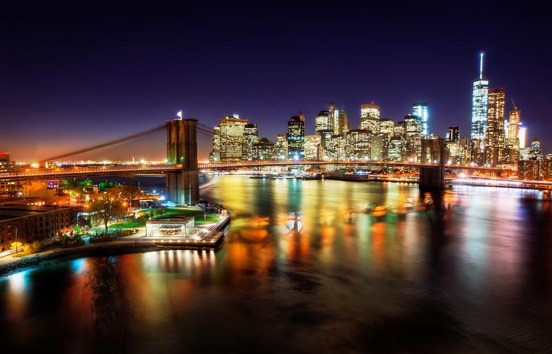 Gotham at night