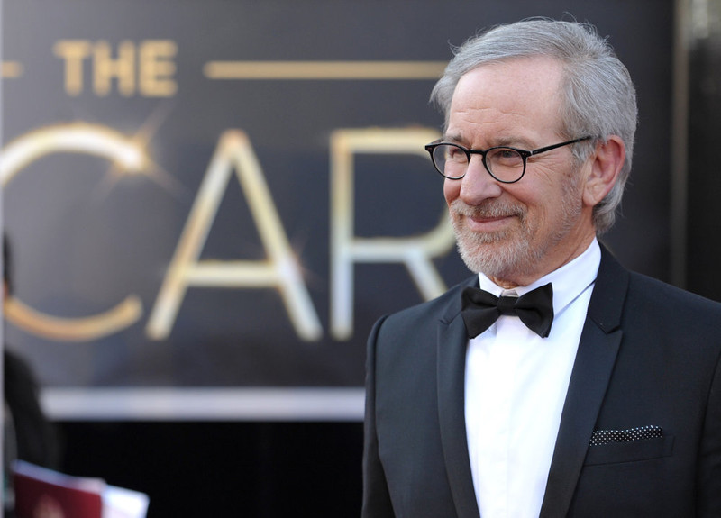 . Steven Spielberg arrives at the Oscars at the Dolby Theatre on Sunday Feb. 24, 2013, in Los Angeles. (Photo by John Shearer/Invision/AP)
