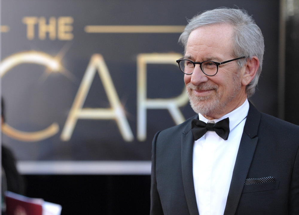 Description of . Steven Spielberg arrives at the Oscars at the Dolby Theatre on Sunday Feb. 24, 2013, in Los Angeles. (Photo by John Shearer/Invision/AP)