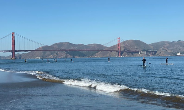 Crissy Field Paddle 11-23-19