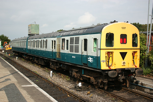 Spa Valley Railway - Diesel Gala, 2nd August 2014