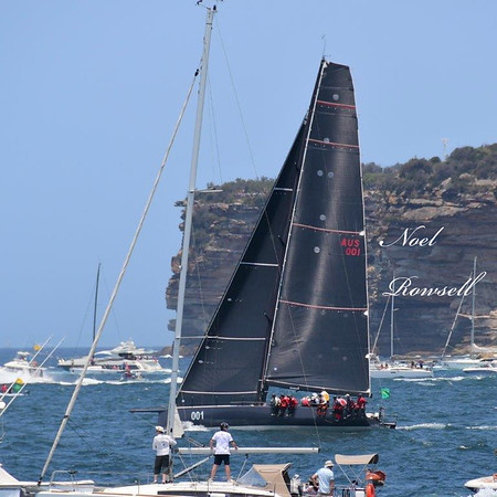 Sydney to Hobart Race Start - Sydney Harbour