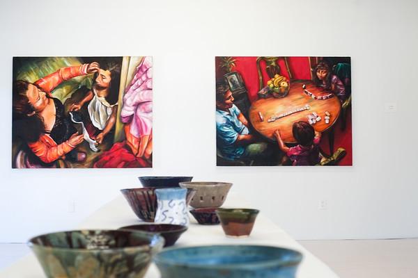 032416 10,000 Alumni Art Show @ Desire to Inspire Studios