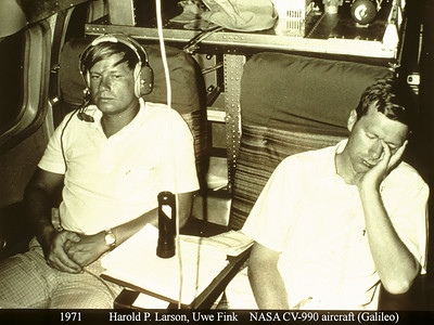 Galileo Aircraft & Kilauea 1971