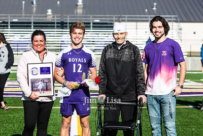 Soccer Senior Night, April 11