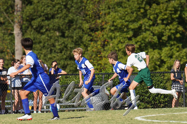 CA MS BOYS SOCCER VS GDS 10-10-2019