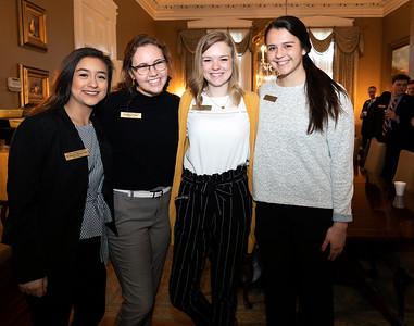 Congressman Aderholt visits with UNA students