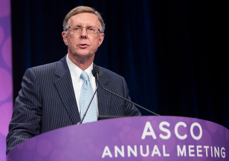 C. Kent Osborne, MD, delivers the 2016 Gianni Bonadonna Award Lecture during Gianni Bonadonna Breast Cancer Award and Lecture