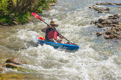 Kayaking with the Verde River Institute, 5/1/15