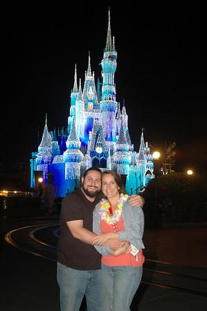 Late Night Visit to Magic Kingdom