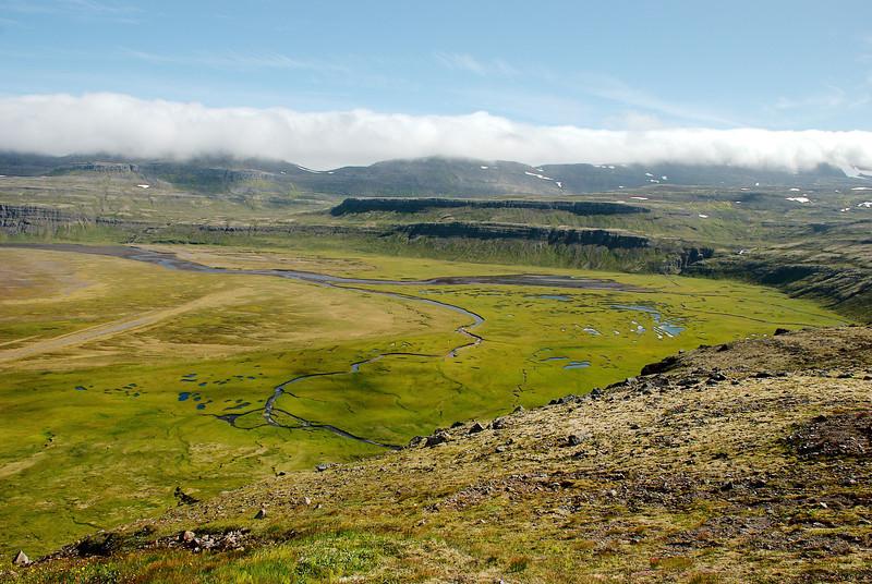 Í Hafnarósinn renna Víðirsá, Torfdalsá, Selá, Gljúfurá og Kýrá.