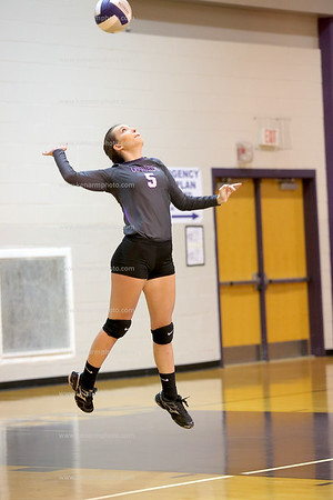 West Bladen 17 Fairmont volleyball