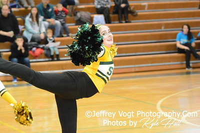 1-30-2016 Seneca Valley HS Varsity Poms at Damascus HS, Photos by Jeffrey Vogt Photography with Kyle Hall