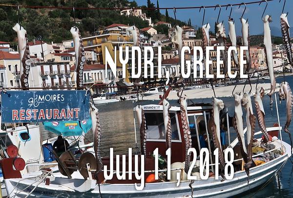 Nydri/Nisos Lefkada  July 11, 2018