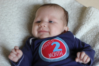 Twins Are 2 months old