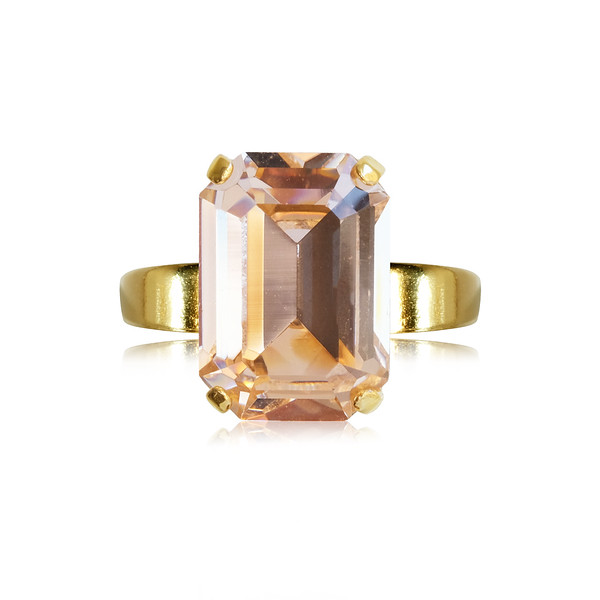 Lydia Ring / Light Peach / Gold