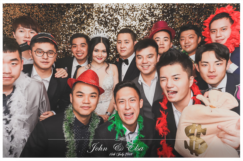 Wedding of John & Elsa | © www.SRSLYPhotobooth.sg
