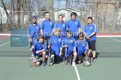 2013-3-27 James Caldwell HS Boys Tennis