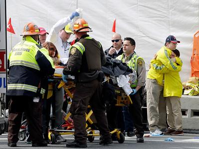 April 2013 Boston Marathon Bomb