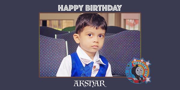Akshar Second Birthday