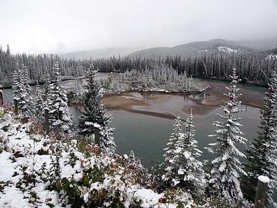 Thursday 10 September : Calgary to Emerald Lake, Field, BC