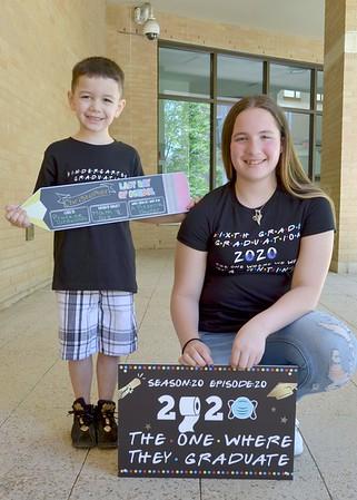 Christopher  & Theresa Graduation 2020