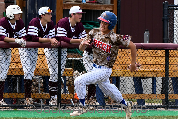 Finish of Suspended game  - Cherry Creek at Cherokee Trail - May 5 2019
