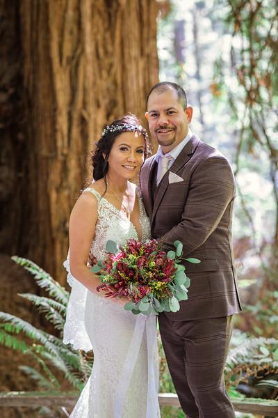 K & F Forest Wedding