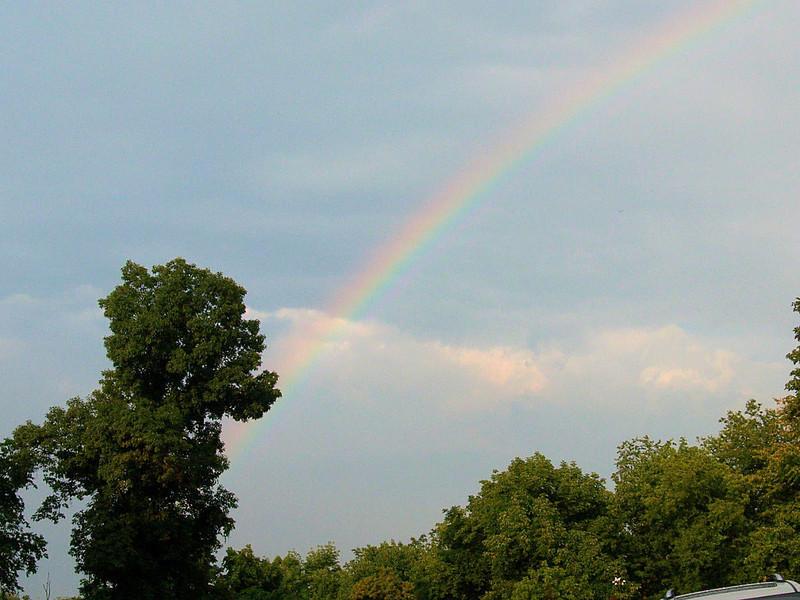 July 3, 2011 Rainbow in Bethel Park PA