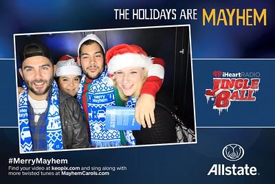 12.5.2016 -  Allstate - Minneapolis - iHeartRadio Jingle Ball