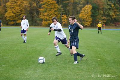 Boys Soccer vs. Cushing Academy 10/27/11