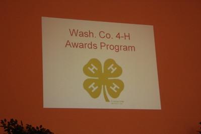 2009 4-H Awards Banquet 09-21-09