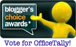 Vote for OfficeTally in the Bloggers Choice Awards!