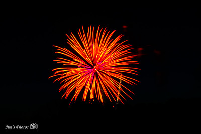 Fireworks - Fire On The River - July 07, 2018
