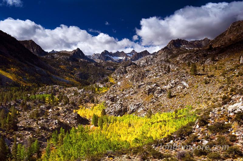 Fall in the Eastern Sierra Mountains