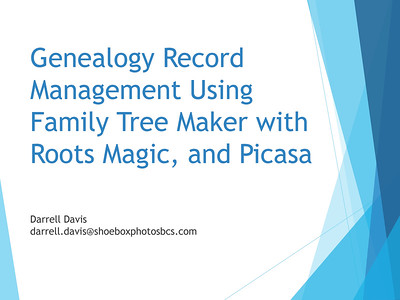 Genealogy Records Management - Part 1