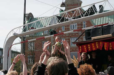 """Free hash"" demonstration, Holmensbro, Copenhagen, Denmark"