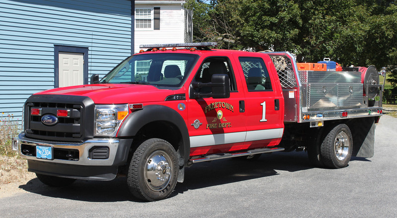 Forestry 1 2012 Ford F-550 / Fouts Brothers 300/500