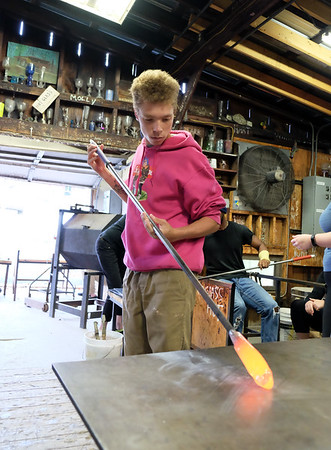 Glass Blowing 10-4-18