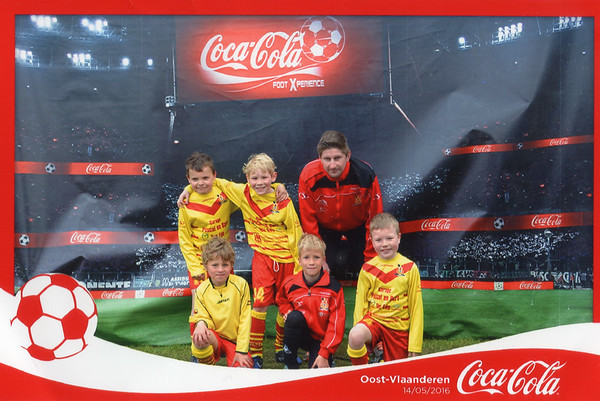14/05/2016: U9B Coca-Cola Cup KFAC Waarschoot
