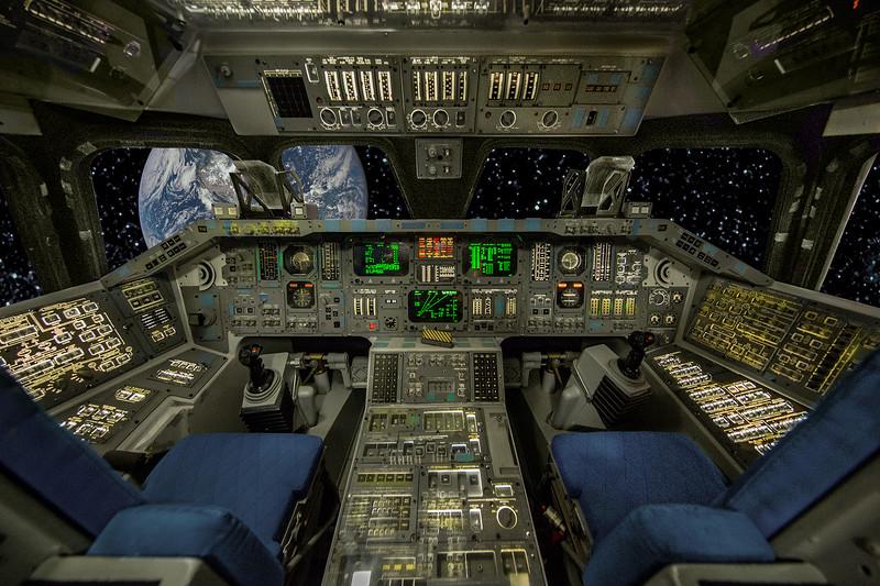 Shuttle at Houston Space Center