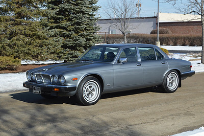 87 Jaguar XJ6 Tungsten Grey metallic