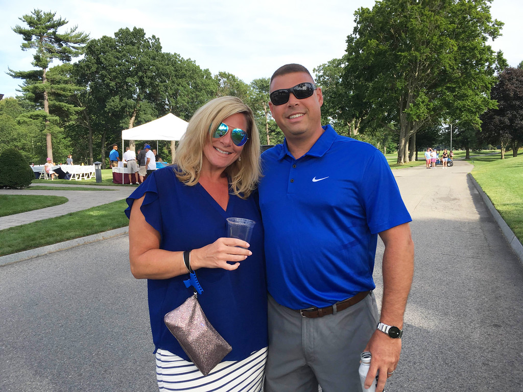 . Jackie and Chris Theriault of Dracut