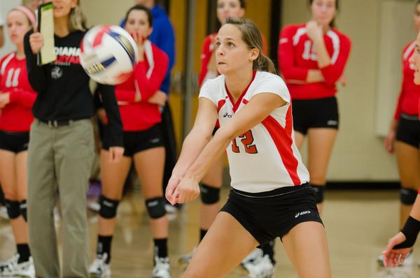 9/28/12 Volleyball vs. St. Xavier