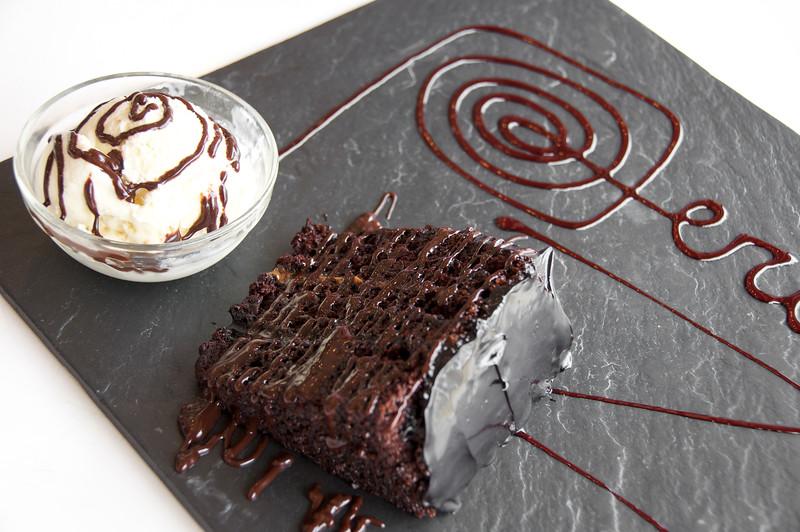 Chocolate Volcano Cake