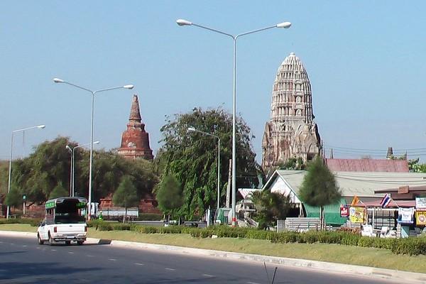 The Ruins at Ayuthaya, Thailand - November 2004