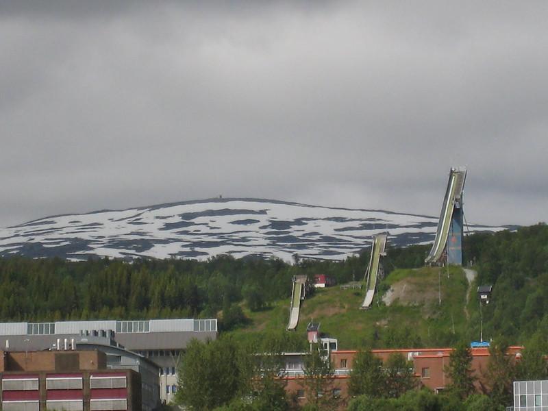 Tromso - ski jumps
