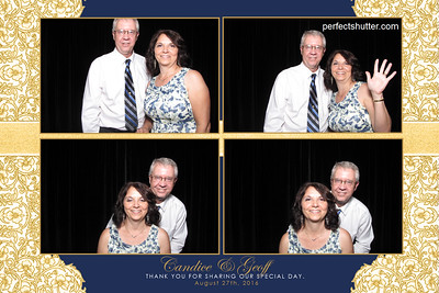 Windsor, Ont: Candice & Geoff, Photo Booth Rental