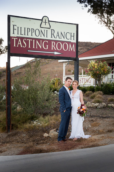 Filipponi Ranch Wedding in San Luis Obispo